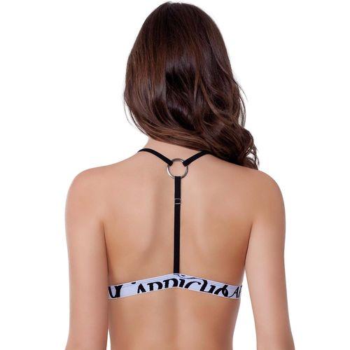 sutiã costas nadador capricho costas preto 310012