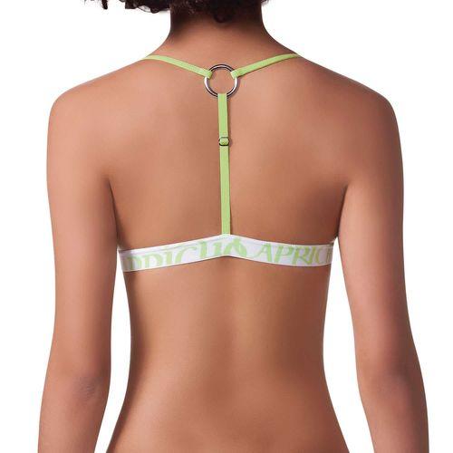 sutiã fecho frontal capricho costas verde 310012