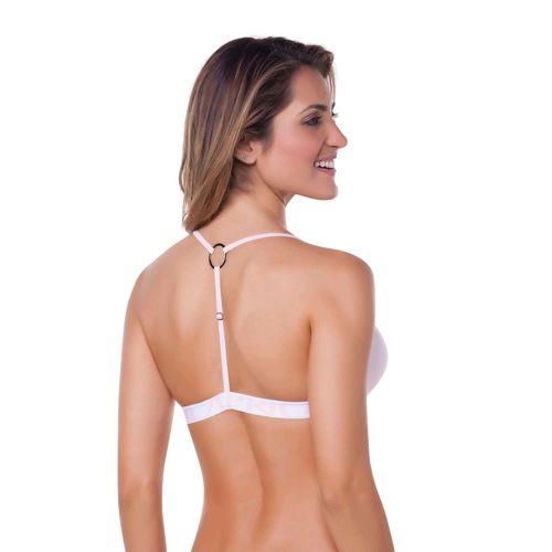 sutiã capricho fecho frontal costas branco 310012