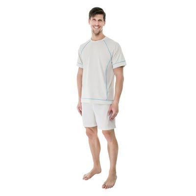 Pijama-Curto-Malha-Gola-Careca-Frisos-