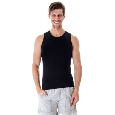 camiseta-regata-modal-preta-frente