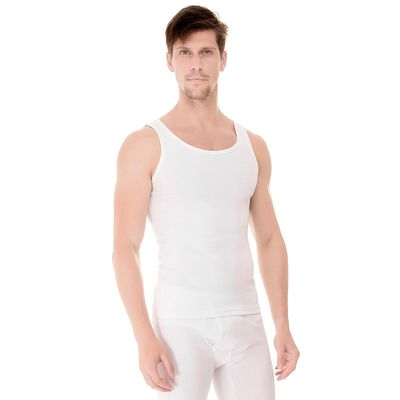 Camiseta-Regata-Rib-branca-frente