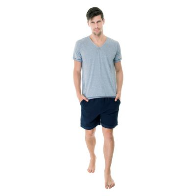 Pijama-Curto-Malha-gola-V-483.382-Marinho-frente-|-UW