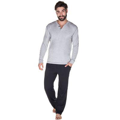 000384-pijama-longo-bicolor-mescla-frente