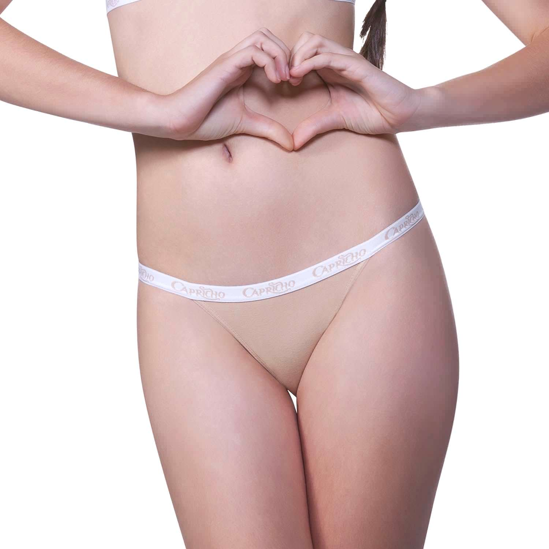 6f22158ec Calcinha String Algodão Nude Capricho