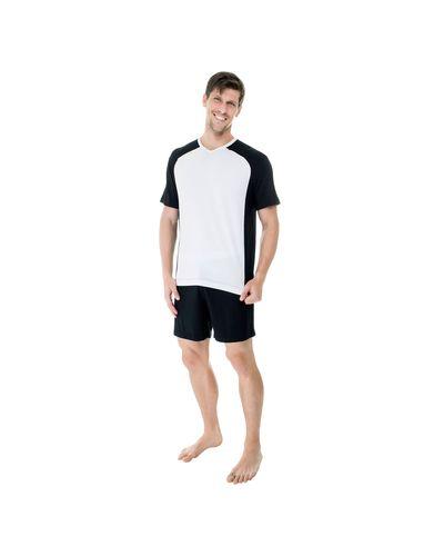 Pijama-Curto-Modal-Gola-V-Raglan-