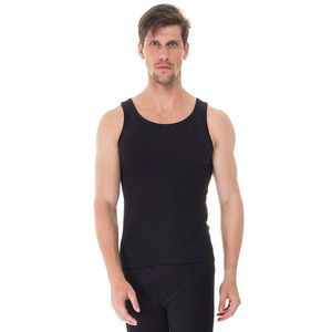 Camiseta-Regata-Rib-preta-frente