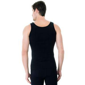 Camiseta-Regata-Rib-preta-costas
