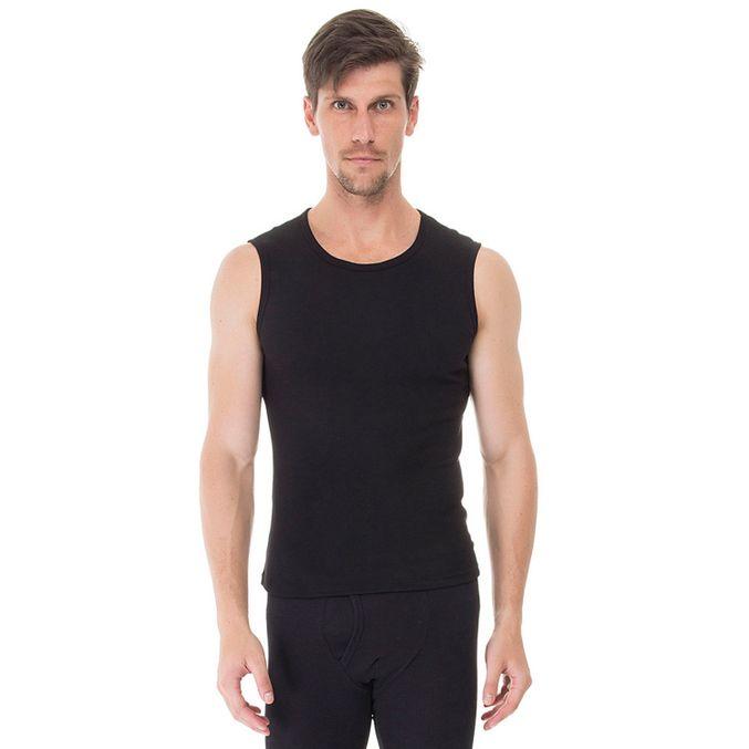 Camiseta-Machao-Rib-preta-frente