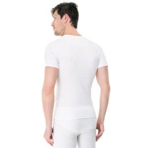 Camiseta-manga-curta-rib-gola-careca-branca-costas