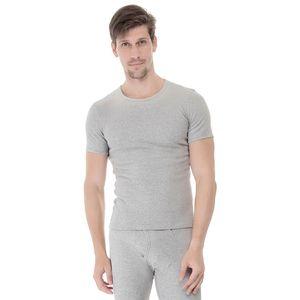 Camiseta-manga-curta-rib-gola-careca-mescla-frente