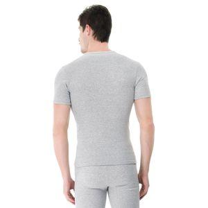 Camiseta-manga-curta-rib-gola-careca-mescla-costas