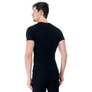 Camiseta-manga-curta-rib-gola-careca-preto-costas
