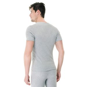 Camiseta-Manga-Curta-Rib-Gola-V-mescla-costas