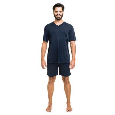 0003810-pijama-curto-jersey-liso-marinho