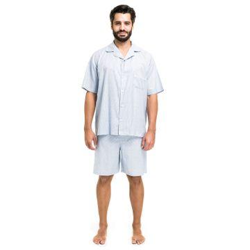 5583810-pijama-aberto-tricoline-azul-claro-frente