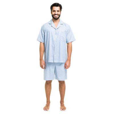 5583810-pijama-aberto-tricoline-azul-denin-frente