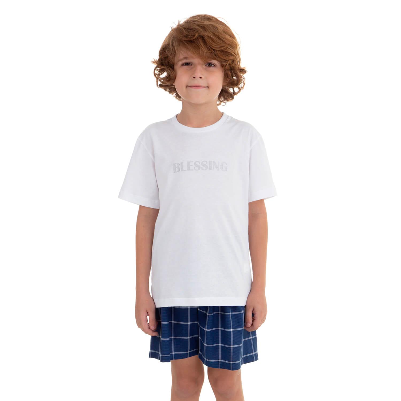Camiseta Malha Infantil  Blessing  - Casa das Cuecas  2c8f27cb117ad