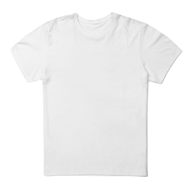 28452def3f30e Camiseta Branca Manga Curta em Modal Underwear Compre Já | UW Casa ...