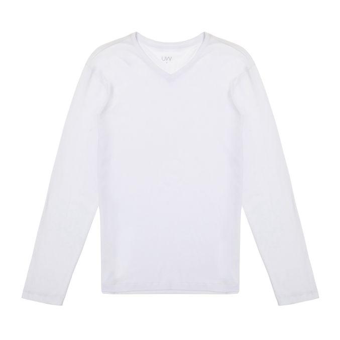 Camiseta-Manga-Longa-gola-v