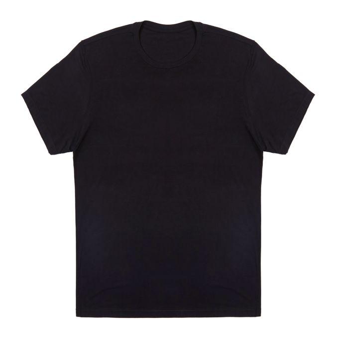 Camiseta-Manga-Curta-Viscolycra-Adulto-Preta